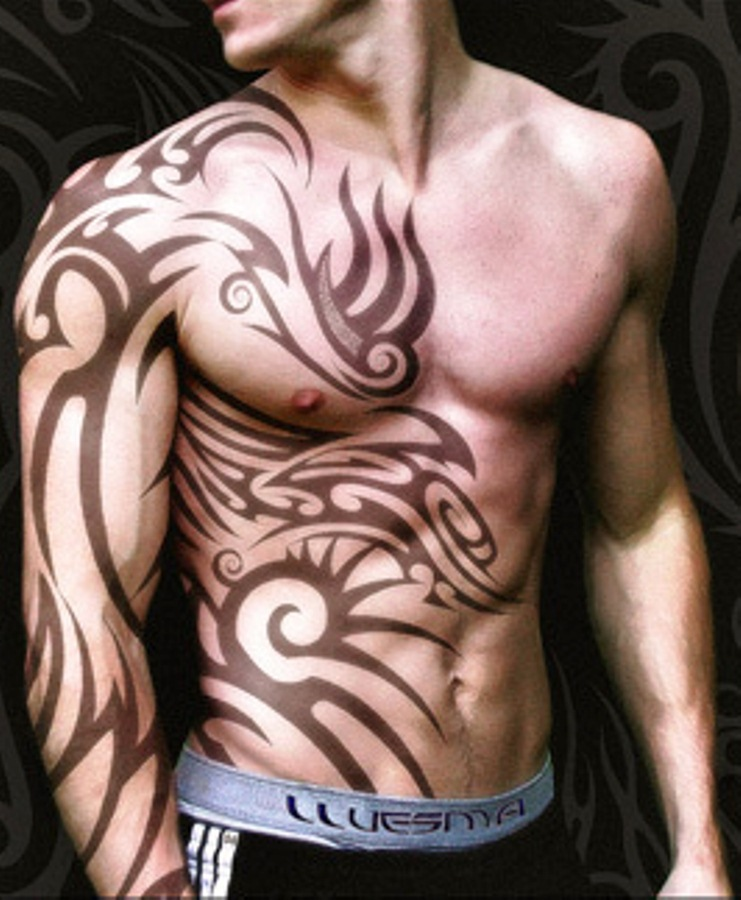 Ideal Tribal Tattoo Designs For Mens Arm