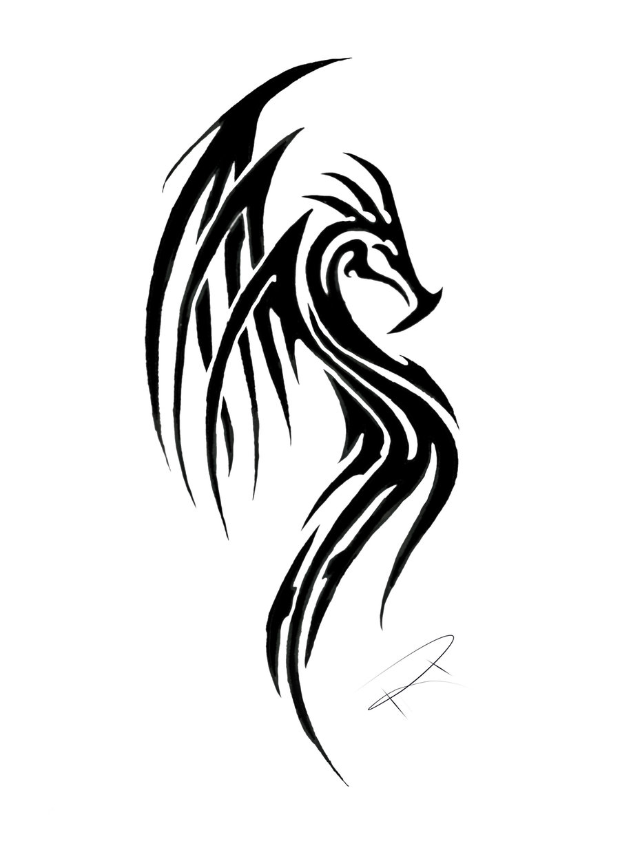 tribal_dragon_tattoo