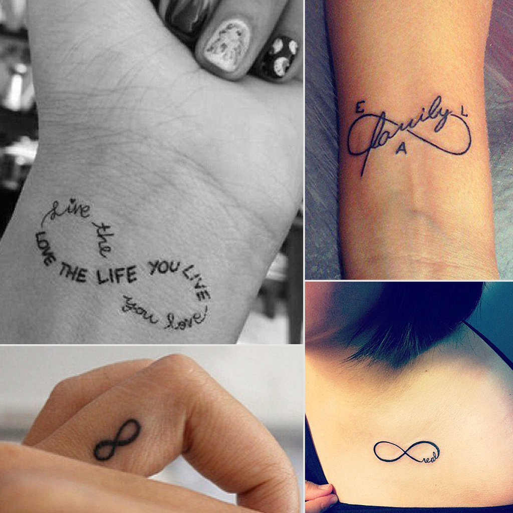 Infinity Sign Tattoo Ideas