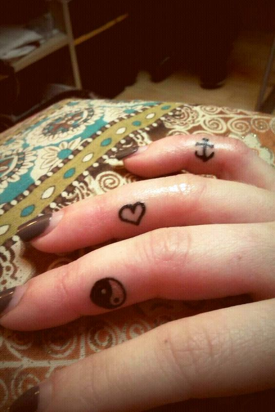 Finger tattoos _ small tattoos