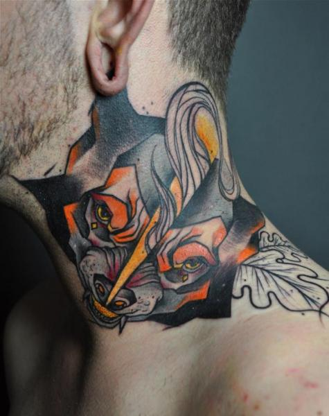 abstract-dog-tattoo