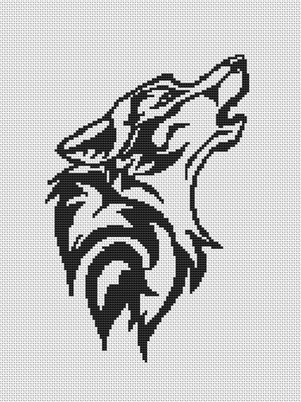 easy-wolf-cross-stitch-patterns