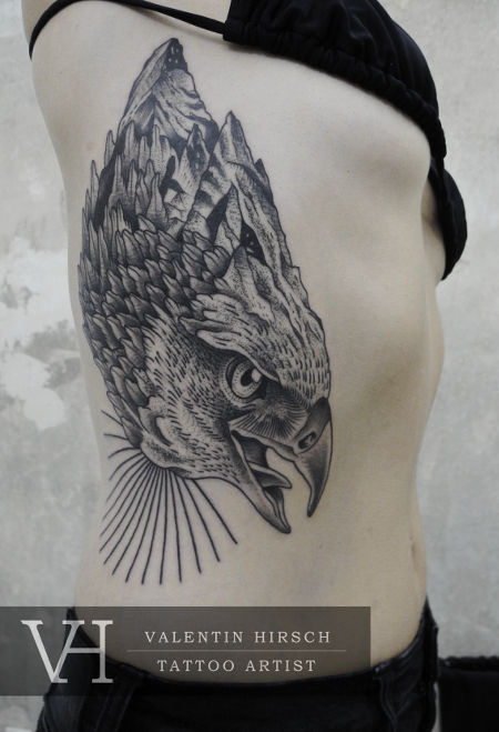 geometric-eagle-tattoo
