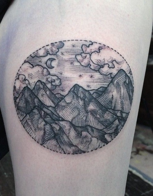 mountain-tattoo-ideas-for-women