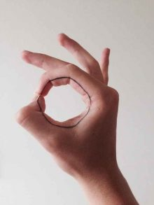Geometric Tattoo Finger Ideas