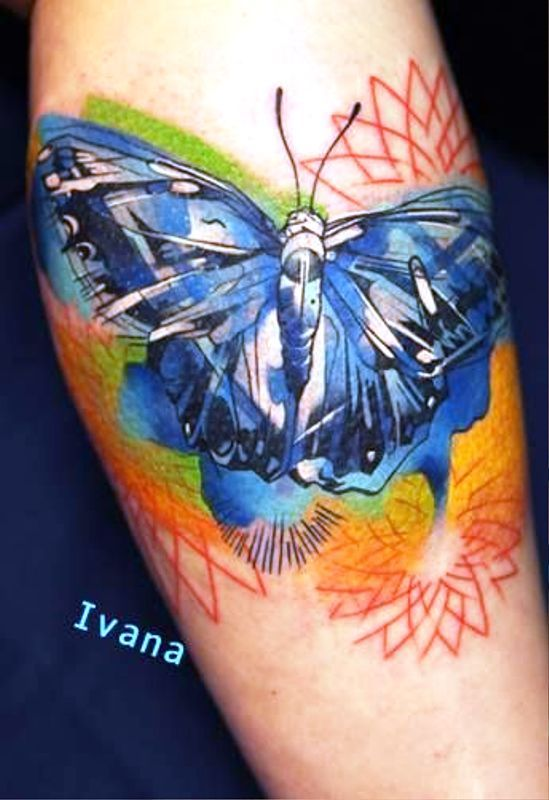 watercolor-butterflies-tattoos-design