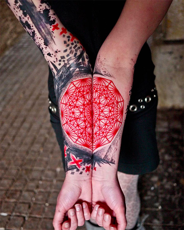 watercolor-geometric-tattoo