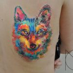 Wolf Tattoo Color Ideas