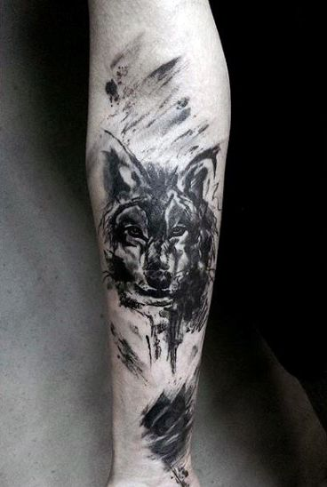 wolf-skull-tattoo-designs