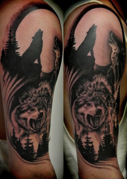 wolf-tattoo-sleeves