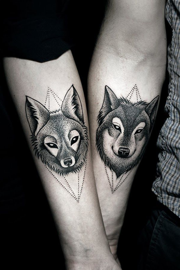 wolves-couples-tattoos-ideas