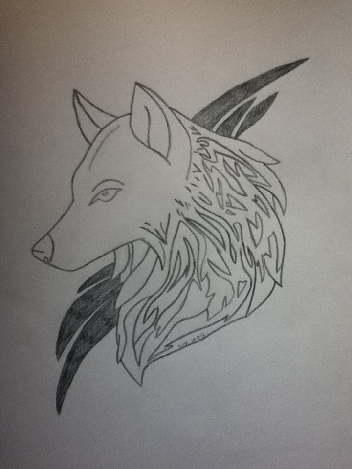 wolves-tattoo-drawing