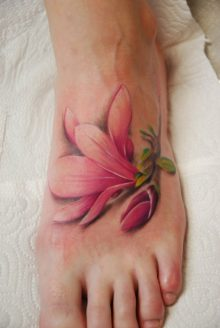 Watercolor Tattoos Lily Ideas