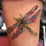 Watercolor Tattoos Dragonfly Ideas