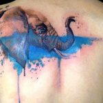 Watercolor Tattoos Elephant Ideas